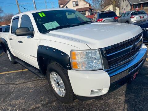 2011 Chevrolet Silverado 1500 for sale at Zs Auto Sales in Kenosha WI