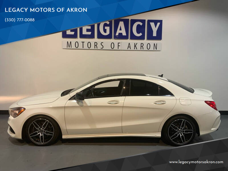 2018 Mercedes-Benz CLA for sale at LEGACY MOTORS OF AKRON in Akron OH