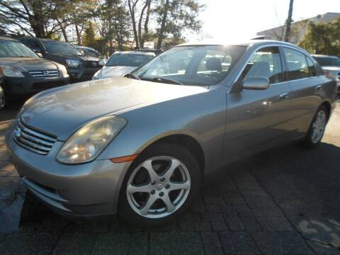 2004 Infiniti G35 for sale at Precision Auto Sales of New York in Farmingdale NY
