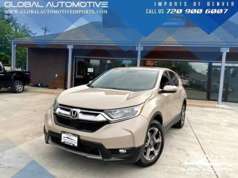 2017 Honda CR-V for sale at Global Automotive Imports of Denver in Denver CO
