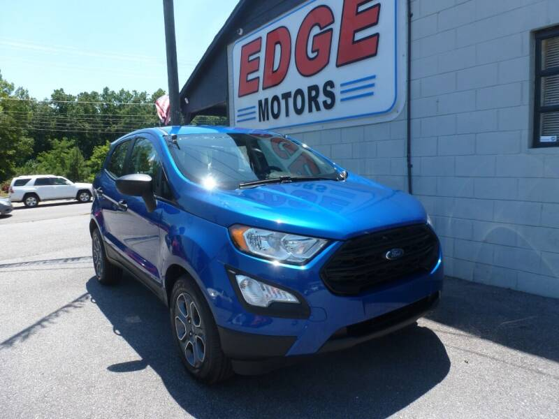 2018 Ford EcoSport for sale at Edge Motors in Mooresville NC