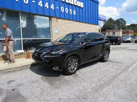 2016 Lexus NX 300h for sale at Southern Auto Solutions - 1st Choice Autos in Marietta GA
