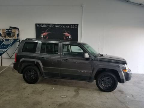 2014 Jeep Patriot for sale at McMinnville Auto Sales LLC in Mcminnville OR