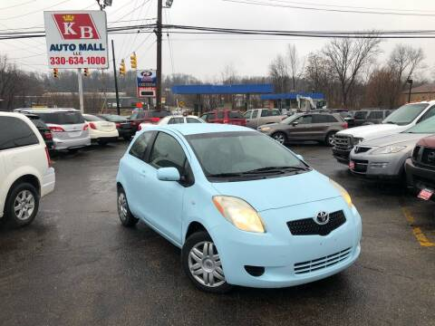 2008 Toyota Yaris for sale at KB Auto Mall LLC in Akron OH