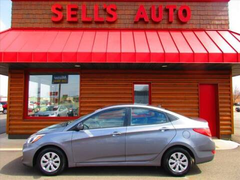 2017 Hyundai Accent for sale at Sells Auto INC in Saint Cloud MN