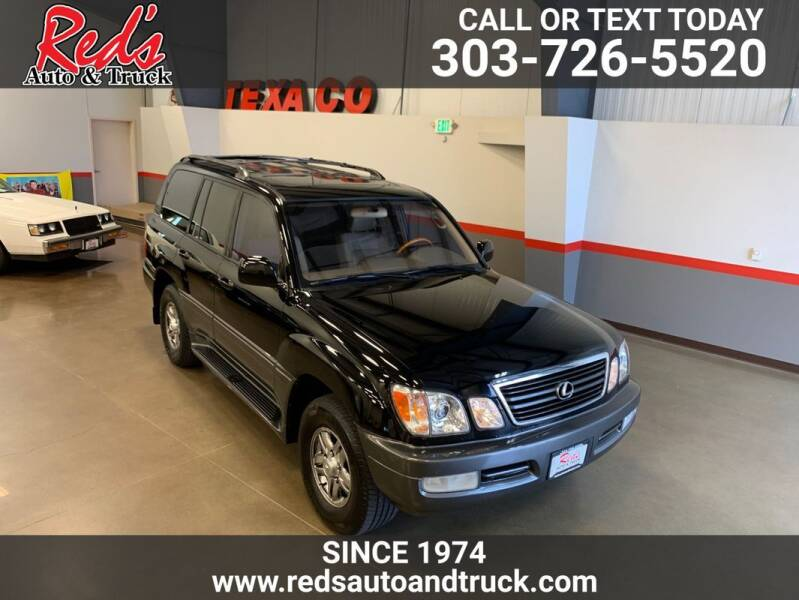 2002 Lexus LX 470 for sale at Red's Auto and Truck in Longmont CO