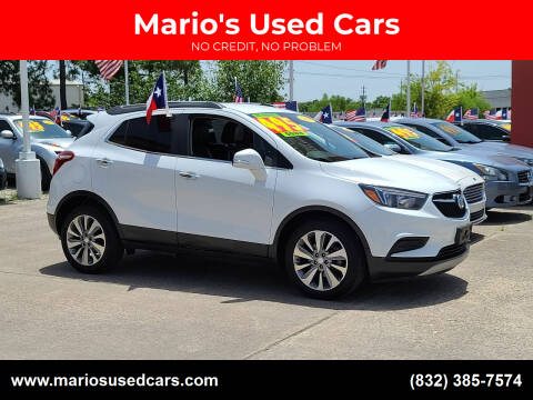 2018 Buick Encore for sale at Mario's Used Cars in Houston TX