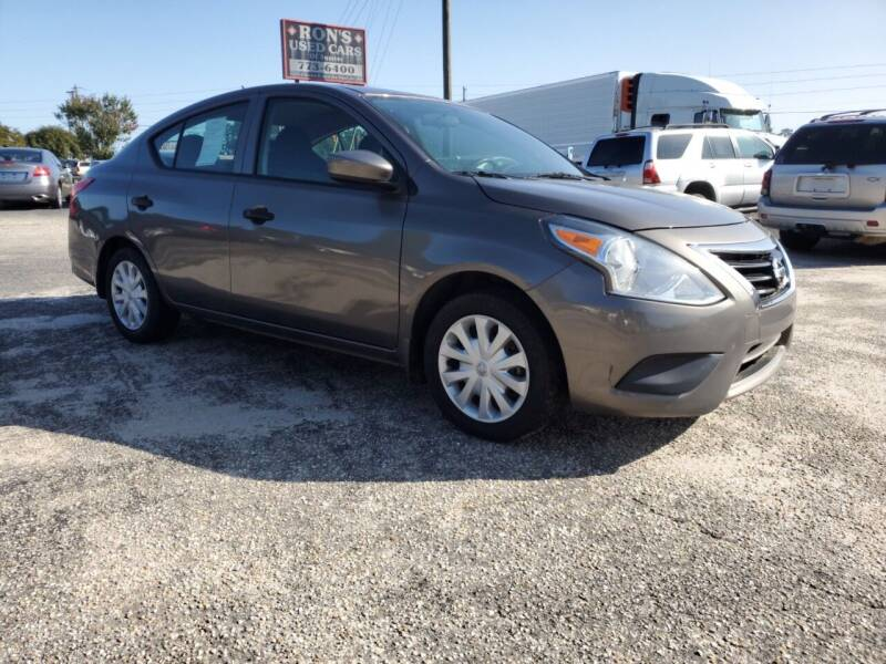 2017 Nissan Versa for sale at Ron's Used Cars in Sumter SC