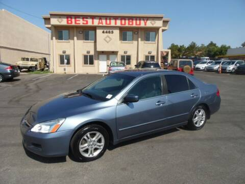 2007 Honda Accord for sale at Best Auto Buy in Las Vegas NV