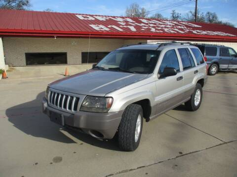 2004 Jeep Grand Cherokee for sale at DFW Auto Leader in Lake Worth TX