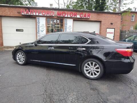 2011 Lexus LS 460 for sale at HARTFORD MOTOR CAR in Hartford CT