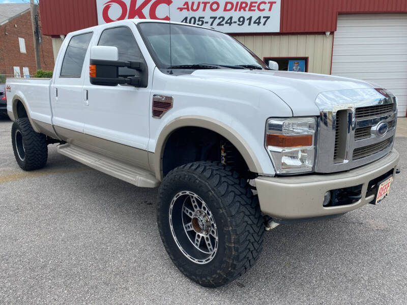 2008 Ford F-350 Super Duty for sale at OKC Auto Direct, LLC in Oklahoma City OK