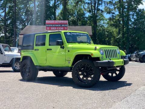 2016 Jeep Wrangler Unlimited for sale at Rodgers Enterprises in North Charleston SC