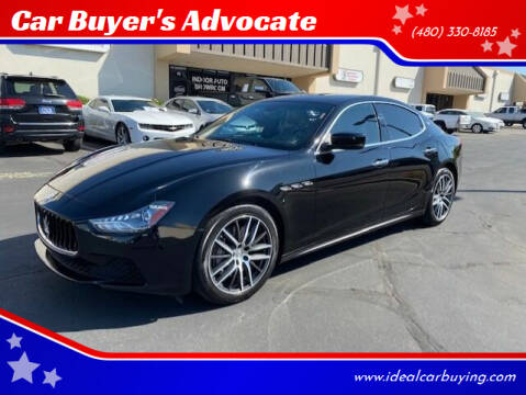 2016 Maserati Ghibli for sale at Car Buyer's Advocate in Phoenix AZ