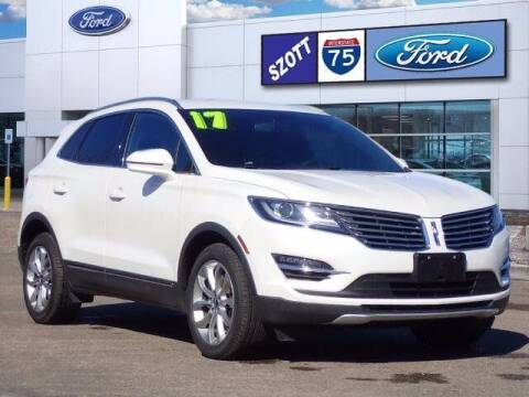 2017 Lincoln MKC for sale at Szott Ford in Holly MI