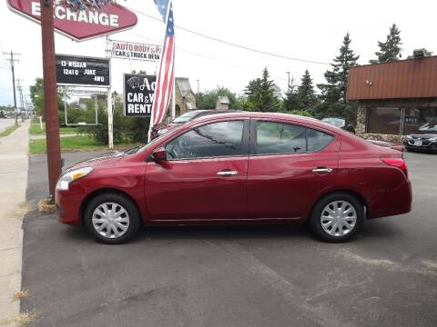 2018 Nissan Versa for sale at The Auto Exchange in Stevens Point WI