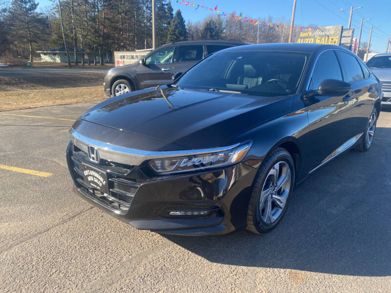 2018 Honda Accord for sale at Affordable Auto Sales in Webster WI