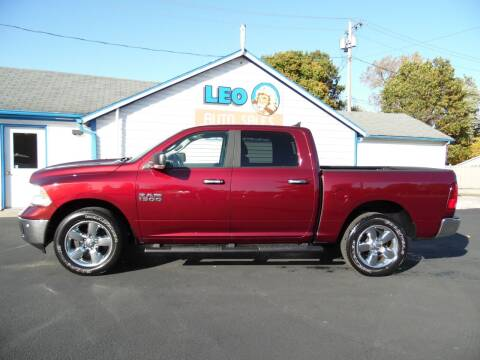 2018 RAM Ram Pickup 1500 for sale at Leo Auto Sales in Leo IN