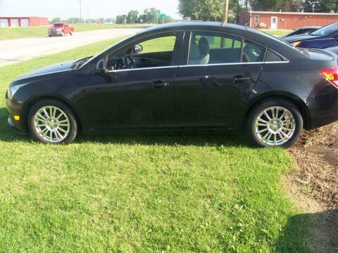 2012 Chevrolet Cruze for sale at LYNDON MOTORS in Lyndon KS