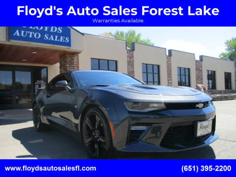 2018 Chevrolet Camaro for sale at Floyd's Auto Sales Forest Lake in Forest Lake MN