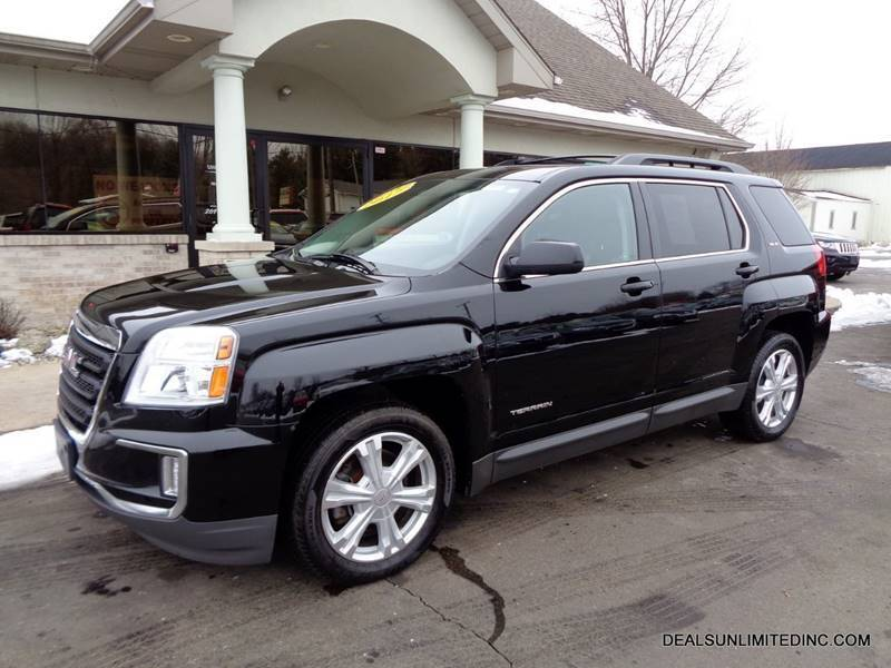 2017 GMC Terrain for sale at DEALS UNLIMITED INC in Portage MI