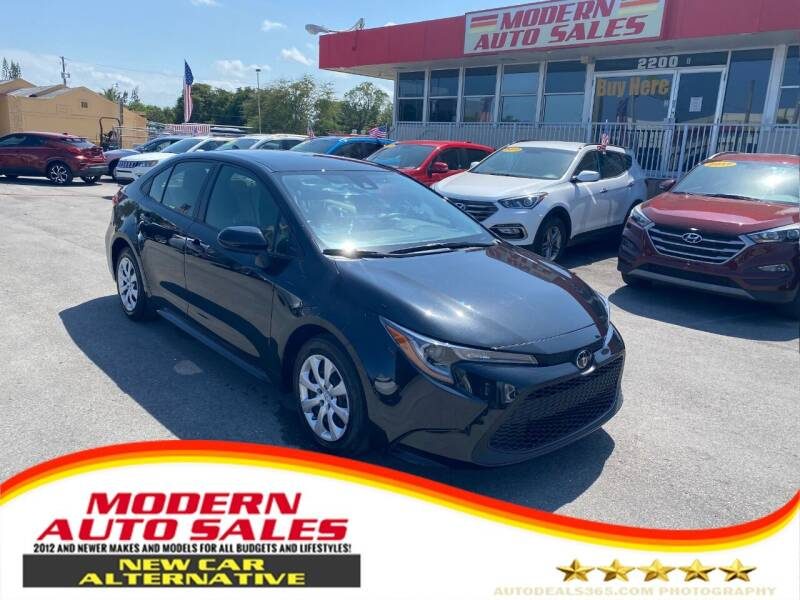 2020 Toyota Corolla for sale at Modern Auto Sales in Hollywood FL