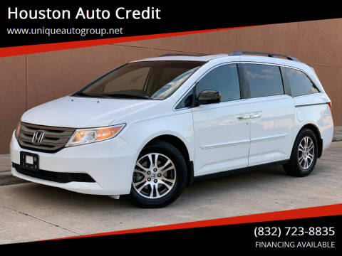 2011 Honda Odyssey for sale at Houston Auto Credit in Houston TX
