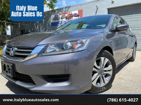 2015 Honda Accord for sale at Italy Blue Auto Sales llc in Miami FL