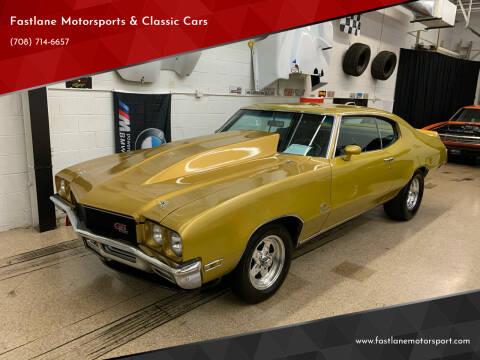 1971 Buick Skylark for sale at Fastlane Motorsports & Classic Cars in Addison IL
