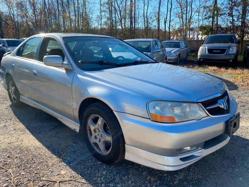 2003 Acura TL for sale at Godwin Motors in Laurel MD