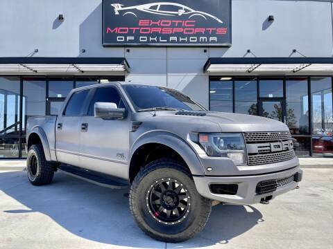 2013 Ford F-150 for sale at Exotic Motorsports of Oklahoma in Edmond OK