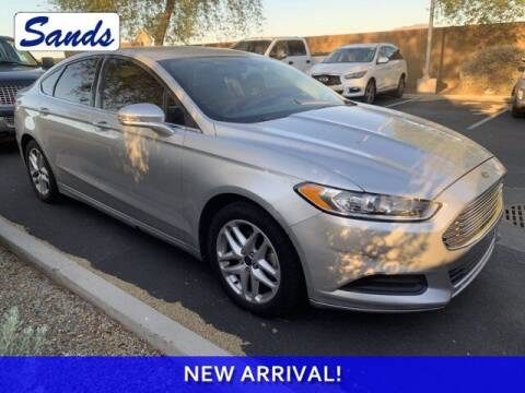 2014 Ford Fusion for sale at Sands Chevrolet in Surprise AZ