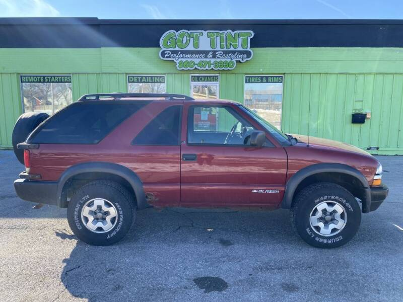 2001 Chevrolet Blazer for sale at GOT TINT AUTOMOTIVE SUPERSTORE in Fort Wayne IN
