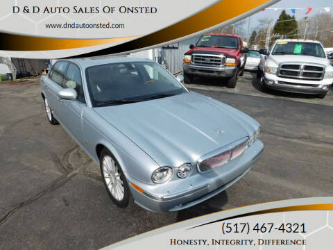2006 Jaguar XJ-Series for sale at D & D Auto Sales Of Onsted in Onsted   Brooklyn MI
