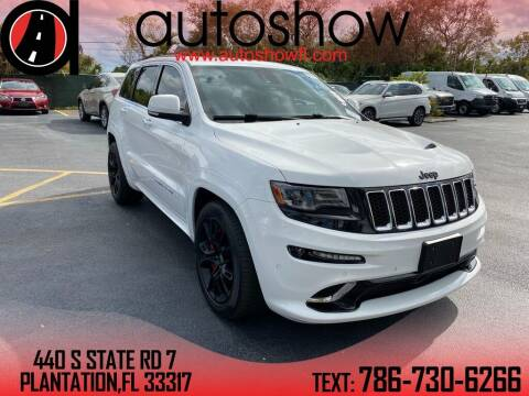 2015 Jeep Grand Cherokee for sale at AUTOSHOW SALES & SERVICE in Plantation FL