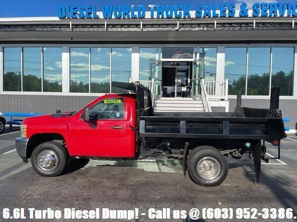 2011 Chevrolet Silverado 3500HD CC for sale at Diesel World Truck Sales - Dump Truck in Plaistow NH