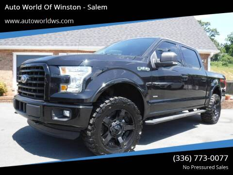 2015 Ford F-150 for sale at Auto World Of Winston - Salem in Winston Salem NC