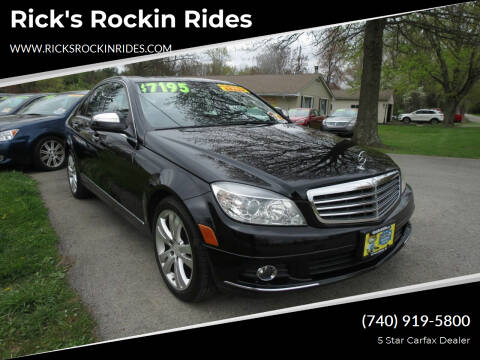 2008 Mercedes-Benz C-Class for sale at Rick's Rockin Rides in Reynoldsburg OH
