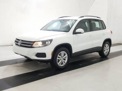 2017 Volkswagen Tiguan for sale at SILVER ARROW AUTO SALES CORPORATION in Newark NJ
