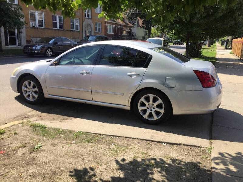 2007 Nissan Maxima for sale at HW Used Car Sales LTD in Chicago IL