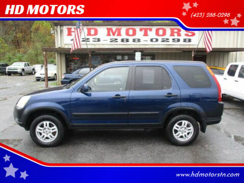 2004 Honda CR-V for sale at HD MOTORS in Kingsport TN