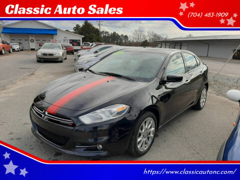 2013 Dodge Dart for sale at Classic Auto Sales in Maiden NC