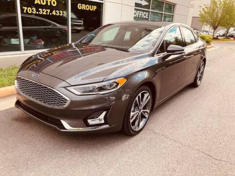 2020 Ford Fusion for sale at Pleasant Auto Group in Chantilly VA