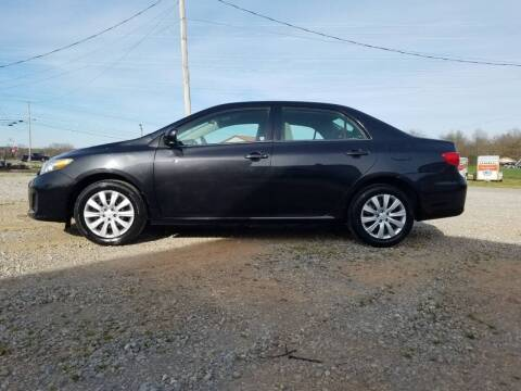2013 Toyota Corolla for sale at Tennessee Valley Wholesale Autos LLC in Huntsville AL