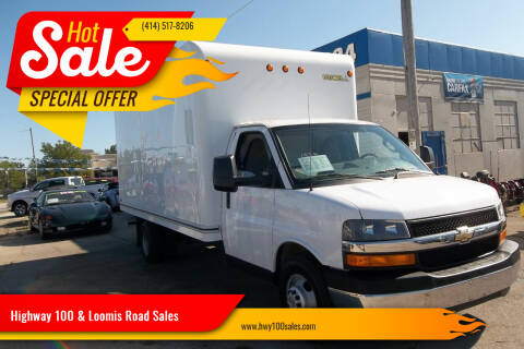 2017 Chevrolet Express Cutaway for sale at Highway 100 & Loomis Road Sales in Franklin WI
