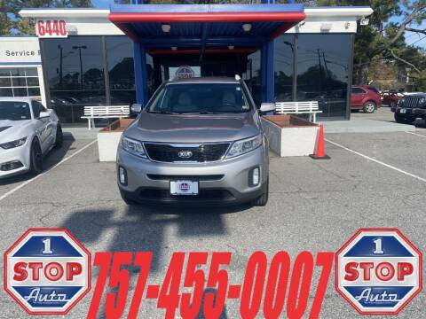 2015 Kia Sorento for sale at 1 Stop Auto in Norfolk VA