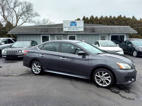 2013 Nissan Sentra for sale at Top Notch Auto Sales LLC in Bluffton IN