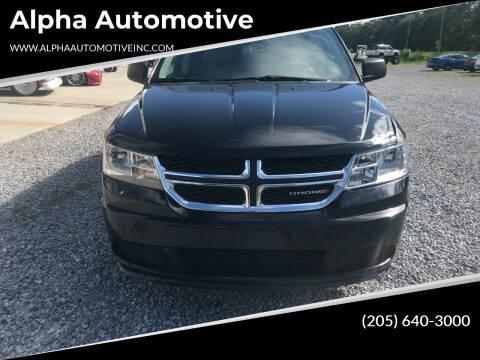 2017 Dodge Journey for sale at Alpha Automotive in Odenville AL