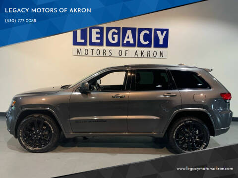 2019 Jeep Grand Cherokee for sale at LEGACY MOTORS OF AKRON in Akron OH