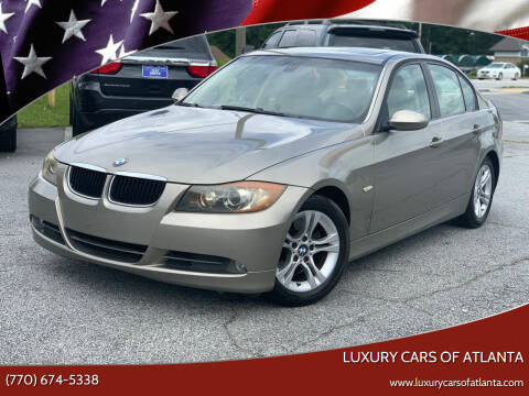 2008 BMW 3 Series for sale at Luxury Cars of Atlanta in Snellville GA